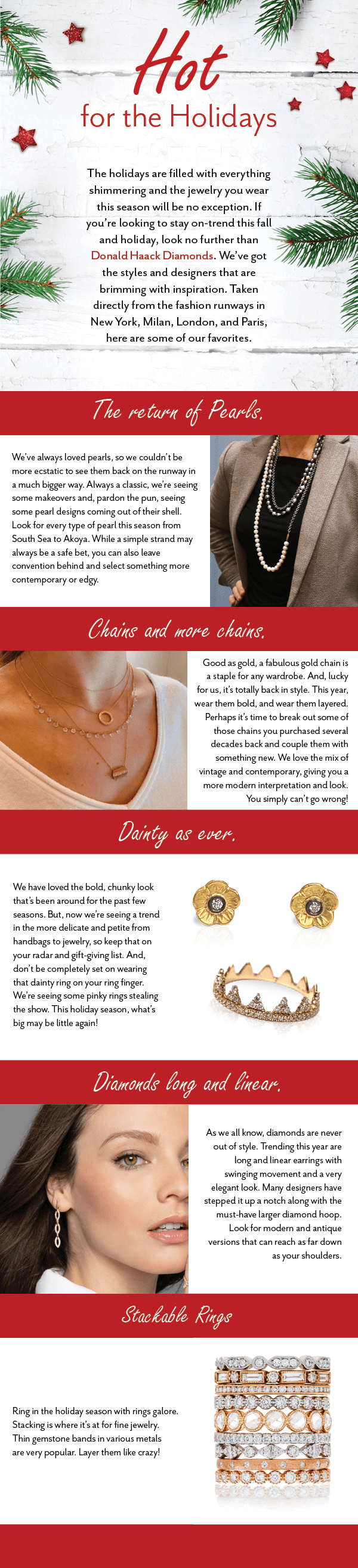 Jewelry for the Holidays