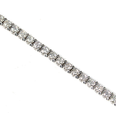 18kt White Gold  Diamond 'Tennis' Bracelet
