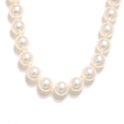 "16"" White Cultured Pearls Necklace"