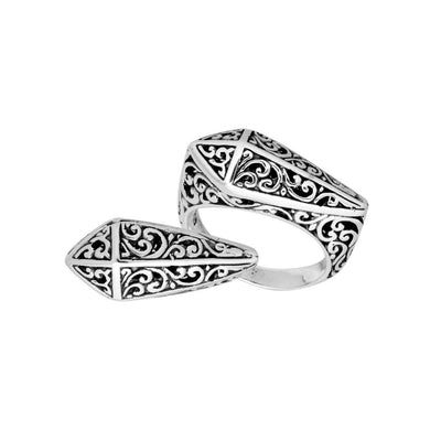 Sterling Silver Balinese Ring