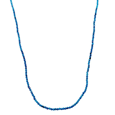 Turquoise Faceted Bead Necklace