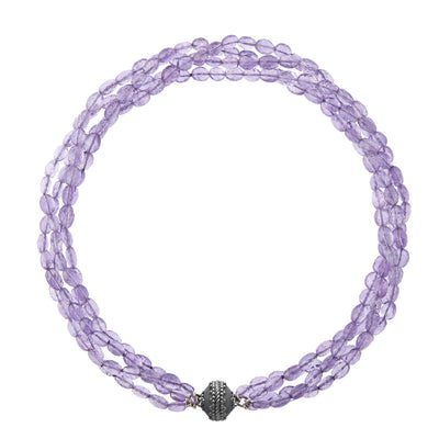 CWC Light Amethyst Faceted Necklace