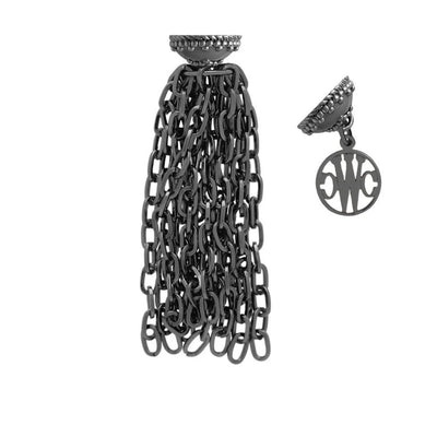 'Addison' Gunmetal Tassel by Clara Williams Company