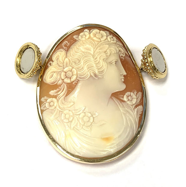 Shell Cameo Centerpiece by Clara Williams Company