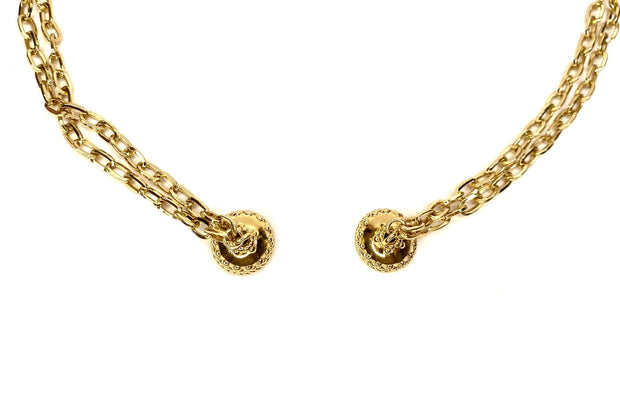 'Addison' Yellow Gold Chain Necklace by Clara Williams Company