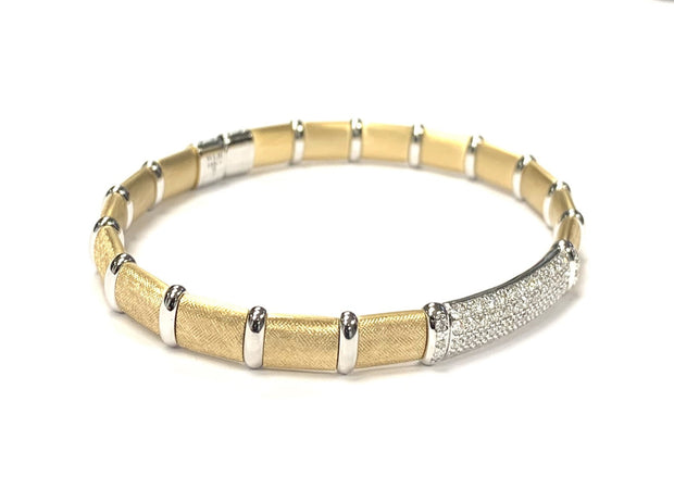"18K Yellow and White Gold ""Venetian Collection"" Henderson Bracelet"