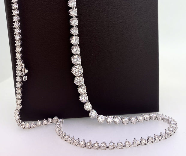 Platinum & Diamond Riviere Necklace