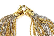 18K Yellow & White Gold Multi-strand Necklace