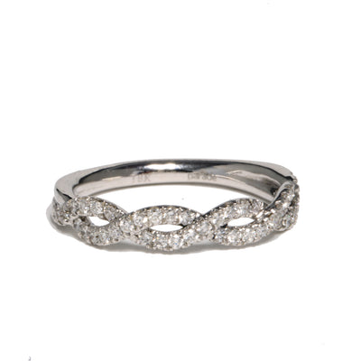 18kt White Gold Hemera Bridal Diamond Band