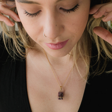 Load image into Gallery viewer, Rose Gold Tourmaline Necklace