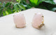 Bague en Or Quartz Rose
