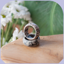 Load image into Gallery viewer, Jasper Zebra Ring