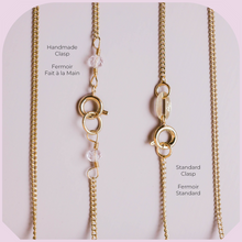 Charger l'image dans la galerie, Collier Or Quartz Clair Brut