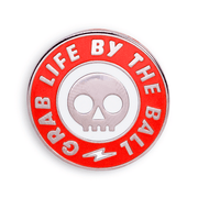 Fear Pong Pin: Grab Life By The Ball (Skull)