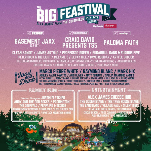 Confirmed as THE Slime and Craft Stall at The Big Feastival!!
