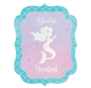 Magical Mermaid invitations