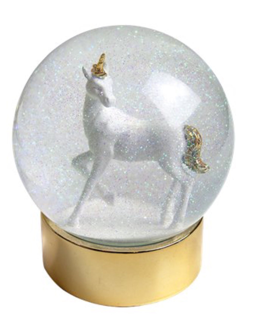 Unicorn Snow Globe Gift