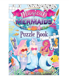 Mermaid Puzzle Book