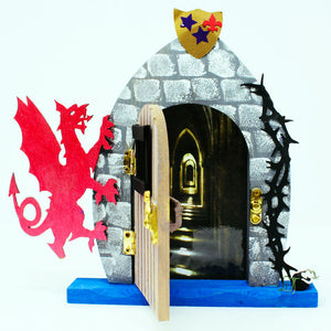 Flame the Dragon Fairy Fairy Door Kit