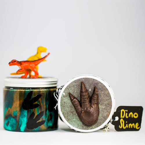 Incredible Dino Slime Duo Pot Kit