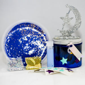 Out Of This World Galaxy Slime Pot Kit