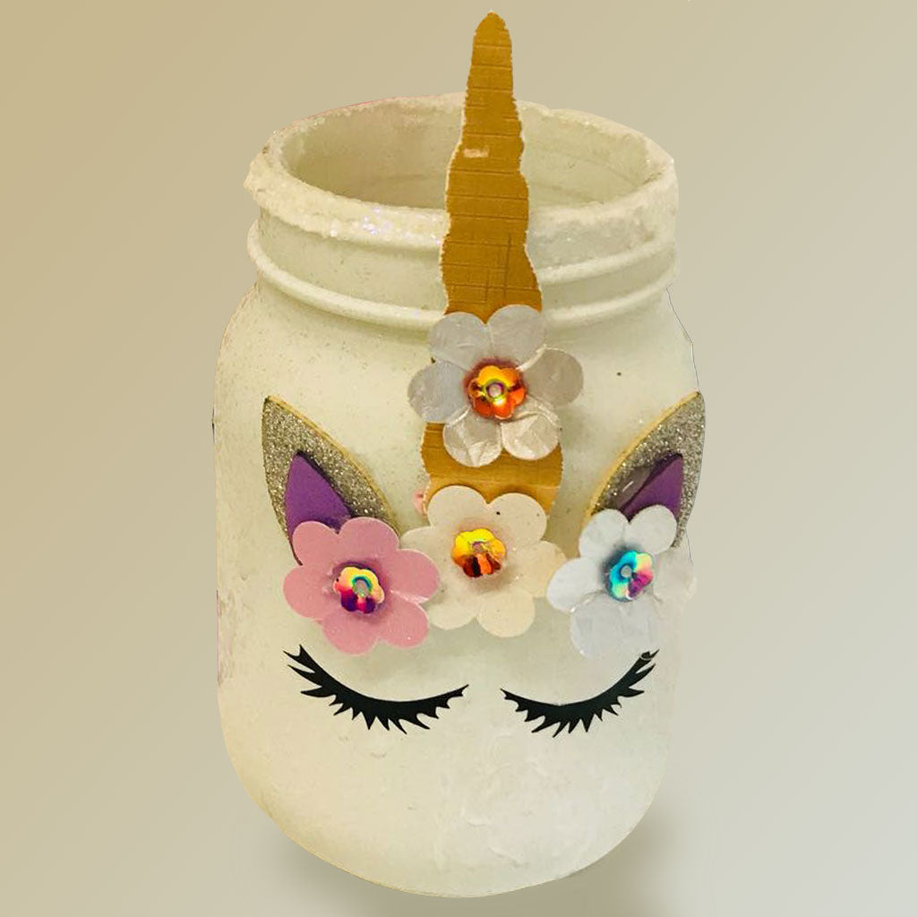Unicorn Dressing Table Jar Kit