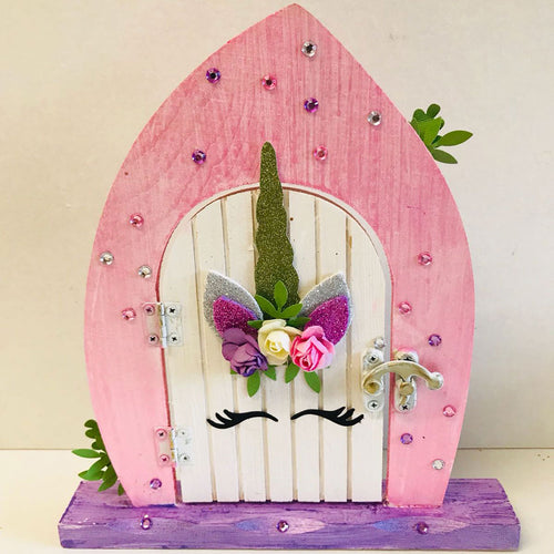 Unicorn Fairy Door Kit