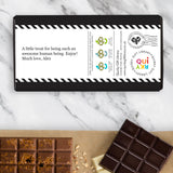 Inspirational Quotation Chocolate