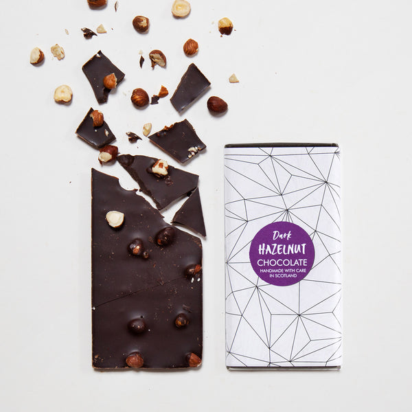 Dark Hazelnut Chocolate Bar