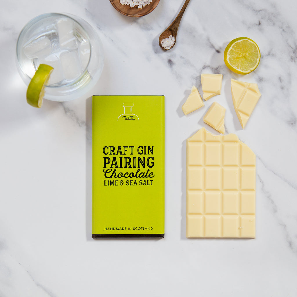Gin Pairing Chocolate - Lime & Sea Salt