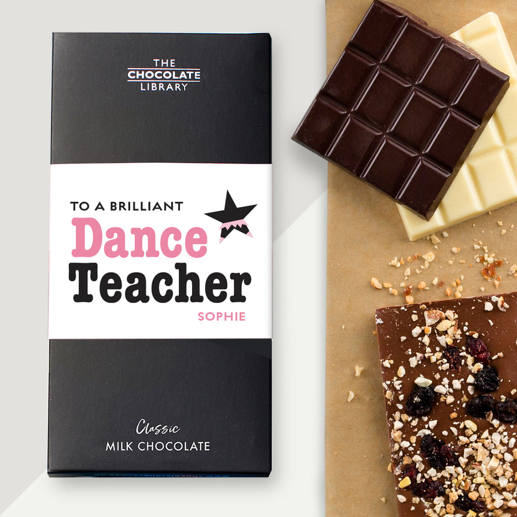 To a Brilliant Dance Teacher Bar