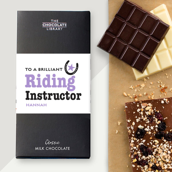 To a Brilliant Riding Instructor Bar