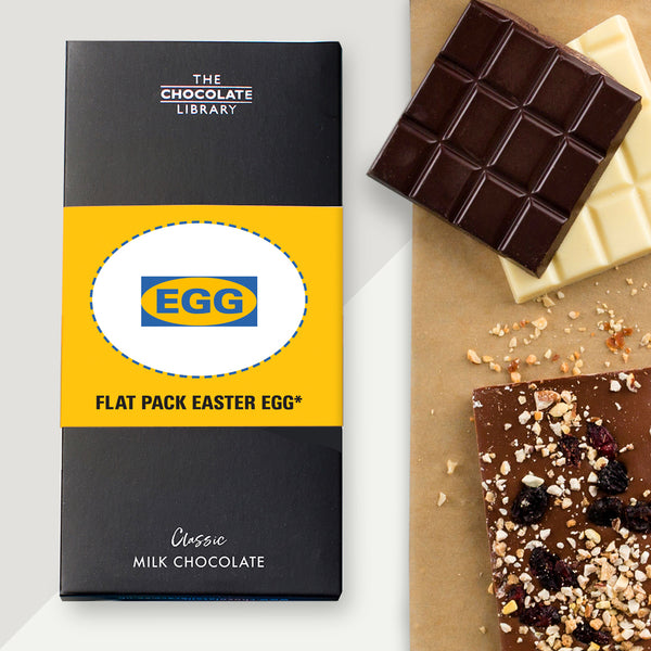 Flat Pack Easter Egg! Chocolate Bar