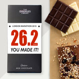 Marathon Finisher Chocolate Bar