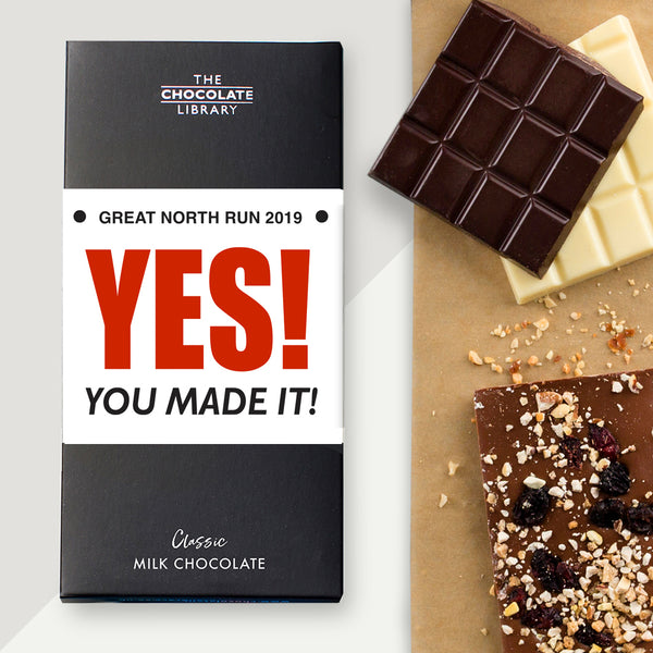 You Made it! Finishers Chocolate Bar