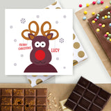 Merry Christmas from Rudolph Chocolate card