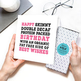 Coffee Lover's Chocolate Birthday Card