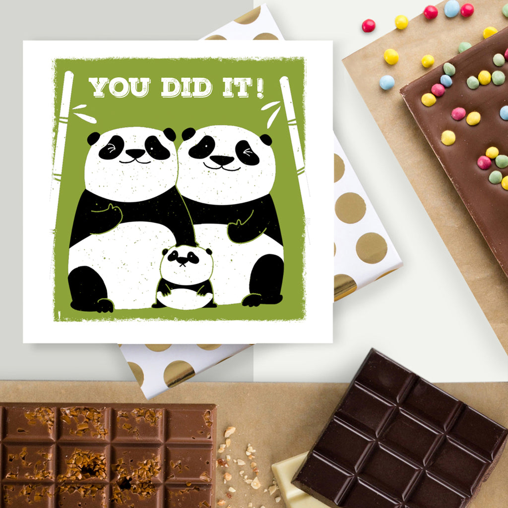You Did It! Cute Congratulations Card