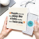 New Parents Funny Quote card