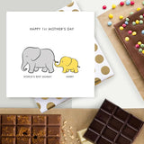 Happy 1st Mother's Day Chocolate Card