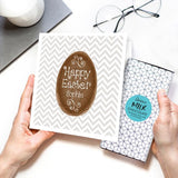 Personalised Easter Egg Chocolate Card