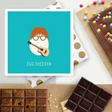 Egg Sheeran Chocolate Card