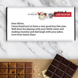 Letter from Santa Chocolate