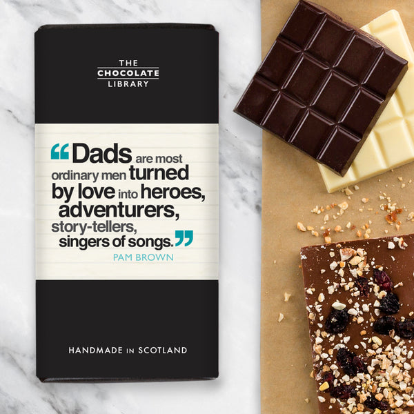 Dad Quotation Chocolate