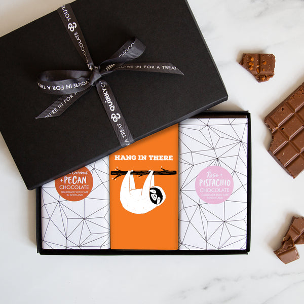 Hang In There! Chocolate Gift Set