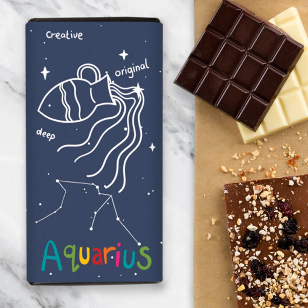 Birthday Zodiac Chocolate - Aquarius