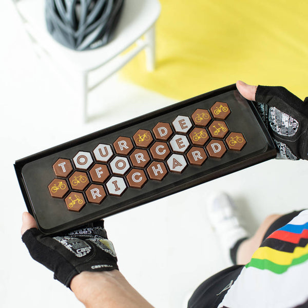 Bike Lovers Personalised Chocolate Box