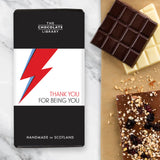 Bowie Tribute Chocolate