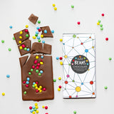 Super Hipster Chocolate Birthday Card