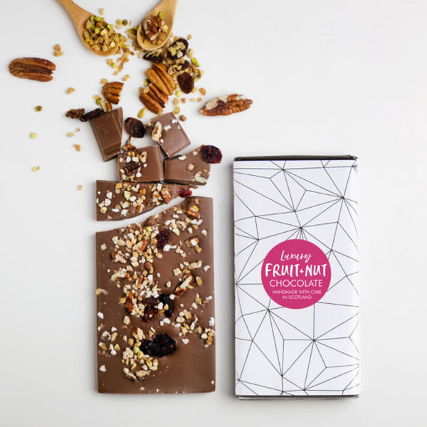 Luxury Fruit & Nut Milk Chocolate Bar